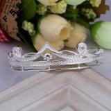 卸し売り高品質の王冠の立方ジルコニアの魅力のブレスレット