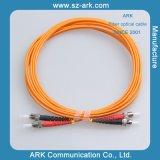 De Optische Kabel van de vezel voor het Duplex Multi-Mode Koord van het Flard st-St