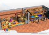 Оборудование спортивной площадки корабля пирата крытое для торгового центра
