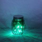 Luces caseras colgantes al aire libre hermosas románticas del tarro de la decoración LED del partido