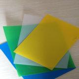 Feuille imperméable à l'eau de blocage UV de solide de polycarbonate de vente chaude de la Chine