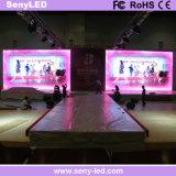 Hecho en la tablilla de anuncios a todo color de interior de LED de China para los anuncios video