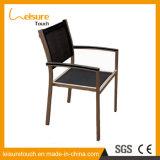 Aluminiumrahmen Textilene Gewebe-Bier-Stab-Möbel-Metallim freiengaststätte-Stuhl