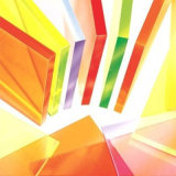 Folha plástica do picosegundo da cor para o Ce do GV RoHS do material de anúncio