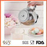 Серебряный инструмент чая & кофеего бака чая гальванического омеднения бака чая цвета Wschmy045