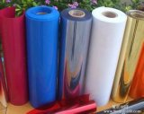 Hoja transparente del PVC