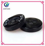 Aperçu gratuit noir et blanc de bouton de bouton de qualité d'enfant