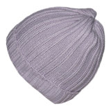 カスタムかぎ針編みのニットの帽子の北極の羊毛の帽子の帽子の卸売