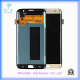 L'affichage à cristaux liquides S7 d'écran tactile pour le téléphone de galaxie pour le bord de Samsuny S7 manifeste l'Assemblée