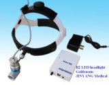 치과 외과 Portable LED 맨 위 돋보기 램프