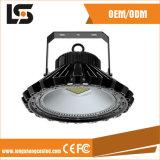 Carcaça elevada da luz da lâmpada do louro do diodo emissor de luz do UFO da liga de alumínio 120W