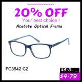 Frame 2016 brilhante dos Eyeglasses do acetato da cor do projeto de Italy