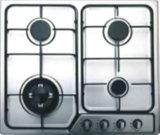 Alto vidrio templado Top 4 quemador incorporado en la estufa de gas / encimera de gas / cocina de gas