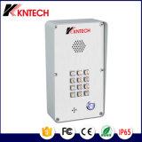 Controle de acesso iluminado Knzd-43A ao ar livre Kntech do teclado da tecla do telefone da porta