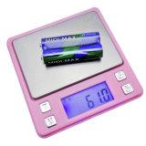 다이아몬드 디지털 균형 여자의 선물 분홍색 포켓 보석 가늠자