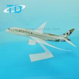 B787-9 de Nieuwe 28.5cm Schaal van Etihad met Ambachten van het Metaal van het Vliegtuig van 28.5cm de Model