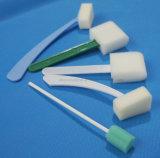 使い捨て可能な医学の綿棒の容器のクリーニングのスポンジの棒