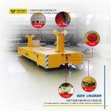A eficiência elevada que transporta o reboque da plataforma pesado morre o veículo de manipulação