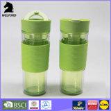 Qualitäts-doppel-wandige Plastikkaffeetasse