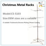 Стеллаж для выставки товаров металла индикации шкафов металла рождества
