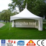 Windproof белая напольная сень 5m шатёр сарая Gazebo сада шатра Pagoda