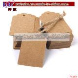 Ornamento de árvore de papel Etiquetas de etiquetas de papel Etiquetas impressas (P4147)