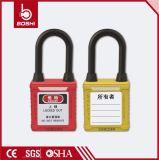 Cadeado de nylon amarelo do mestre do grilhão da prova do duto de Bd-G12dp