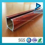 Perfil 6063 T5 de alumínio para o trilho personalizado da trilha da cortina