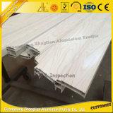 Profil en aluminium des graines de transfert en bois en gros de papier pour la porte en bois simulée