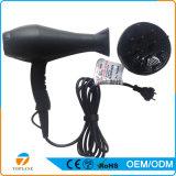 Secador de cabelo plástico elétrico com o difusor com o motor de C.A. do elevado desempenho
