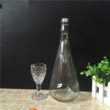Frasco de vinho de vidro 1000ml na venda