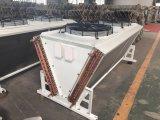 Condensatore raffreddato aria di alluminio del tubo di rame dell'aletta di forma di v per cella frigorifera