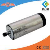 Diamètre à haute fréquence 80mm de l'axe 400Hz 24000rpm 1.5kw pour l'axe refroidi par air de gravure du bois