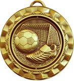 Bienvenue à la médaille faite sur commande du football 3D de qualité
