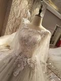 新しい到着2017の多色刷りの結婚の灰色のウェディングドレス