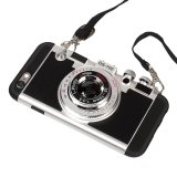 coperchio protettivo della cassa del gel molle del silicone di disegno della macchina fotografica di iPhone 7