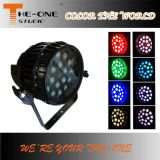 18PCS x 10W Waterproof a luz da PARIDADE com zoom