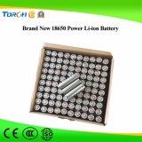 Первоначально глубокая батарея лития 18650 качества 3.7V 2500mAh батареи силы цикла