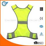 Veste de passeio de venda quente da segurança reflexiva elevada da visibilidade para o caminhante