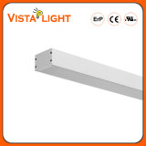Iluminação linear do diodo emissor de luz do pendente de alumínio da extrusão 30W para fábricas