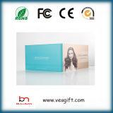 7.0 '' Video Brochure Cartões com Cmyk Printing