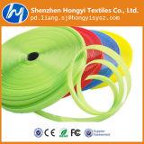 Großhandelsverpackungs-Gepäck-elastischer Flausch-Haken und Schleife