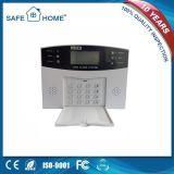 Système d'alarme mobile sans fil chaud de GM/M de l'appel 2017 avec le système d'alarme de GM/M d'écran LCD