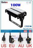 Luz de inundação ao ar livre do diodo emissor de luz Houisng de China do corpo de alumínio branco do fabricante 400W 300W 200W 150W 100W 50W