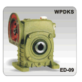 Redutor de velocidade da caixa de engrenagens do sem-fim de Wpdks 80