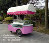 Carro do Vending de Gelato/carro gelado com rodas