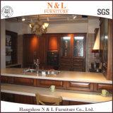 N et L le meilleur Module de cuisine de luxe de vente en bois solide de meubles simples de cuisine