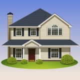 좋은 디자인된 가족 집 조립식 가옥 집