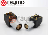 Raymo 1b Epg 2 3 4 5 6 7 8つのPinの肘のソケットのコネクター