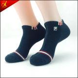 Носки отрезока низкого уровня носка хлопка людей белые